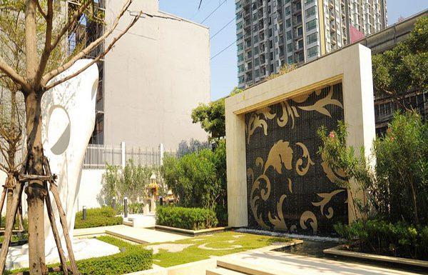 Rhythm-Sukhumvit-50-Bangkok-condo-for-sale-garden