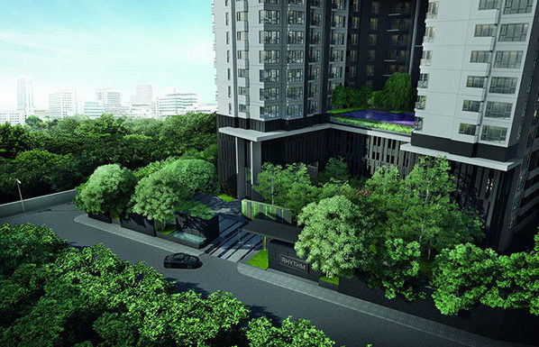 Rhythm-Sukhumvit-36-38-Bangkok-condo-for-sale-entrance-600x385